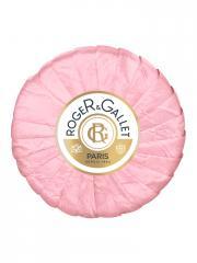 Roger & Gallet Savon Frais Boîte Cristal Rose 100 g - Pain 100 g