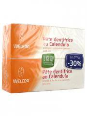 Weleda Pâte Dentifrice au Calendula Lot de 2 x 75 ml - Lot 2 x 75 ml