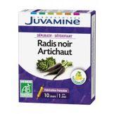Juvamine Radis Noir Artichaut 10 Ampoules - Boîte 10 ampoules