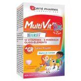 Forté Pharma MultiVit'Kids Défenses 30 Comprimés A Croquer - Boîte 30 comprimés à croquer