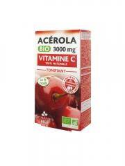 Les 3 Chênes Bio Acerola Bio 3000 mg 21 comprimés - Boîte 21 comprimés à croquer