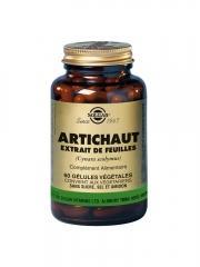 Solgar Artichaut 60 Gélules Végétales - Flacon 60 gélules
