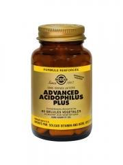 Solgar Advanced Acidophilus Plus 60 Gélules Végétales - Flacon 60 gélules