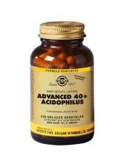 Solgar Advanced 40+ Acidophilus 120 Gélules Végétales - Flacon 120 gélules