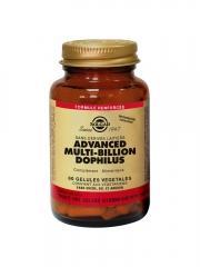 Solgar Multi-Billion Dophilus 60 Gélules Végétales - Flacon 60 gélules