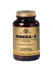 Solgar Omega-3 60 Gélules - Flacon 60 gélules