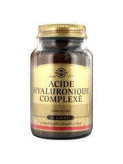 Solgar Acide Hyaluronique 120 mg 30 Comprimés - Flacon 30 comprimés