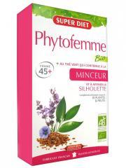 Super Diet Phytofemme Thé Vert Minceur Bio 20 Ampoules - Boîte 20 Ampoules de 15 ml