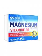 Govital Magnésium Vitamine B6 45 Comprimés - Boîte 45 comprimés