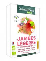 Santarome Bio Jambes Légères Bio 20 Ampoules - Boîte 20 ampoules