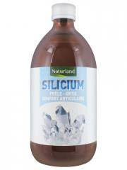 Naturland Silicium Prêle Ortie 480 ml - Bouteille 480 ml
