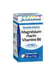 Juvamine Magnésium Marin Vitamine B6 30 Comprimés - Boîte 30 comprimés