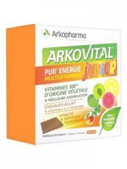 Arkopharma Arkovital Pur'Energie Multivitamines Junior 15 Carrés - Boîte 15 carrés de chocolat
