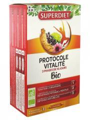 Super Diet Protocole Vitalité 30 Ampoules - Boîte 30 ampoules de 15 ml