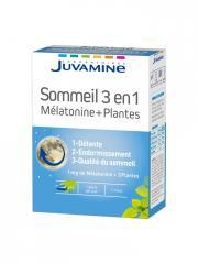 Juvamine Sommeil 3 en 1 Mélatonine + Plantes 30 Gélules - Boîte 30 Gélules