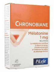 Pileje Chronobiane Mélatonine 1 mg 30 Comprimés - Boîte 30 comprimés