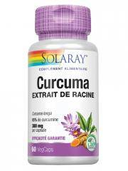 Solaray Curcuma 60 Capsules - Boîte 60 capsules
