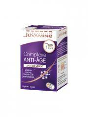 Juvamine Complexe Anti-Âge Anti-Oxydant 30 Gélules - Boîte 30 Gélules
