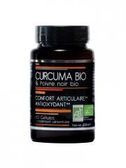 Nutrivie Curcuma Bio et Poivre Noir Bio 60 Gélules - Boîte 60 gélules