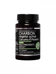 Nutrivie Charbon Végétal Activé Curcuma et Pissenlit 60 Gélules - Boîte 60 Gélules
