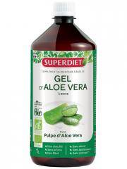 Super Diet Gel d'Aloe Vera Bio 1 L - Flacon 1 L