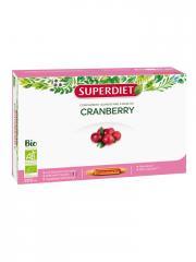 Super Diet Cranberry Bio 20 Ampoules - Boîte 20 ampoules de 15 ml