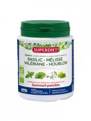 Super Diet Quatuor Mélisse Sommeil Paisible Bio 150 Gélules - Boîte plastique 150 gélules