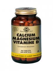 Solgar Calcium Magnesium Vitamine D 150 Comprimés - Flacon 150 comprimés