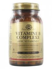 Solgar Vitamine B Complex avec Vitamine C 100 Comprimés - Flacon 100 comprimés