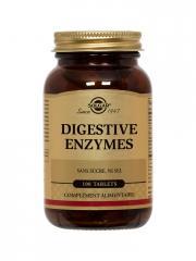 Solgar Digestive Enzymes 100 Comprimés - Flacon 100 comprimés