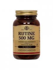 Solgar Rutine 500 mg 50 Comprimés - Flacon 50 comprimés