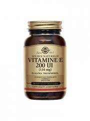 Solgar Vitamine E 200 UI (134 mg) 50 Gélules Végétales - Flacon 50 Gélules