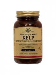 Solgar Kelp 250 Comprimés - Flacon 250 comprimés