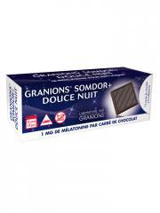 Granions Somdor+ Douce Nuit 58 g - Boîte 15 carrés de chocolat