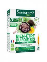 Santarome Bio Bien-Être du Foie Bio 20 Ampoules - Boîte 20 ampoules