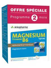 Arkopharma Magnésium Vitamine B6 150 mg 120 Gélules Offre Spéciale - Boîte 120 Gélules