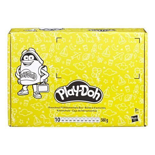 Play Doh Pâte à modeler Play-Doh Coffret Ecole 10 pots - Pâte à modeler
