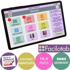 "FACILOTAB Tablette tactile FACILOTAB L Samsung Galaxy Tab A7 10.4"" 4G + Wifi 32 Go Noir - Publicité"