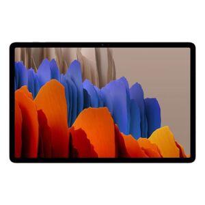 """Samsung Tablette tactile Samsung Galaxy Tab S7+ SM-T976 5G 12,4"""" 256 Go Bronze mystique - Publicité"""