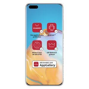Huawei Smartphone Huawei P40 Pro 5G Double SIM 512 Go Blanc - Publicité
