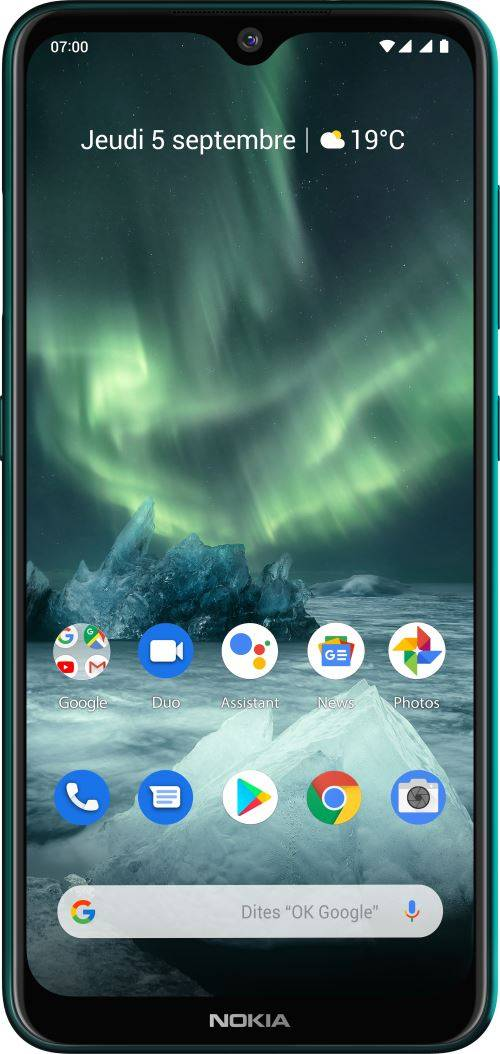 Nokia Smartphone Nokia 7.2 Double SIM 128 Go Vert - Smartphone