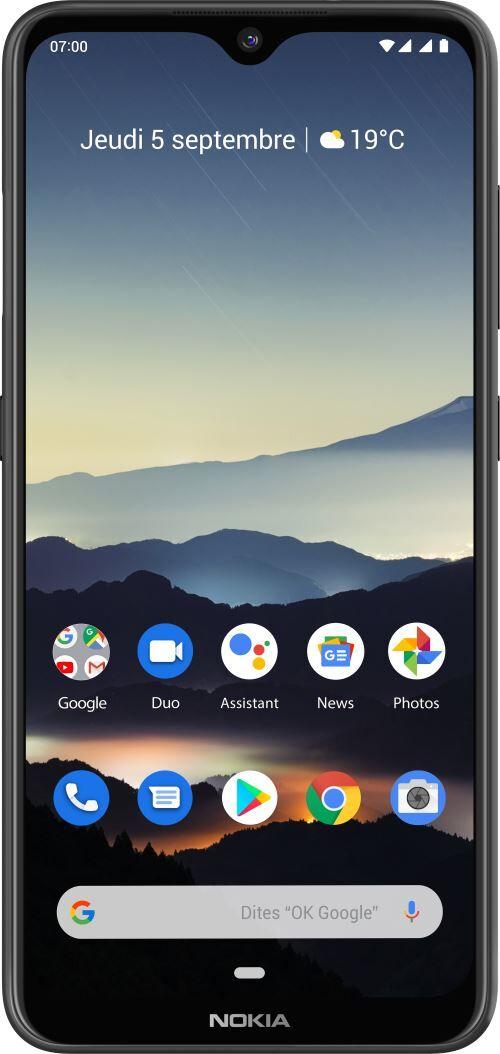 Nokia Smartphone Nokia 7.2 Double SIM 128 Go Gris foncé - Smartphone
