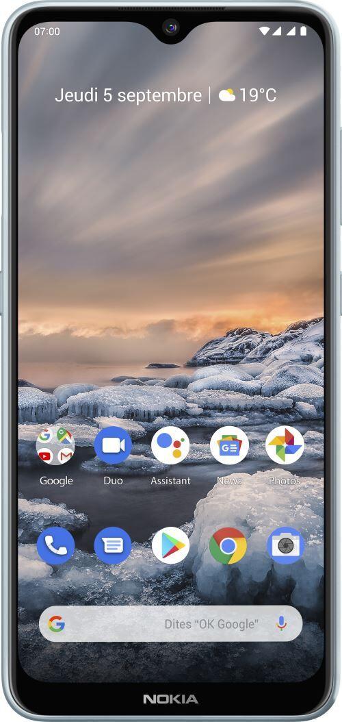 Nokia Smartphone Nokia 7.2 Double SIM 128 Go Ice - Smartphone