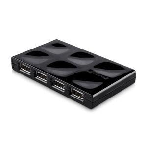 Belkin Hub Belkin F5U701cwBLK 7 ports USB 2.0 Noir livrée avec alimentation externe - Hub USB