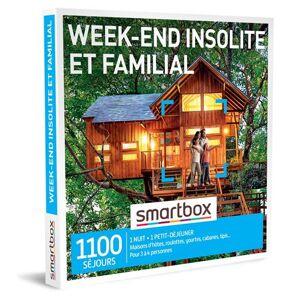 SmartBox Coffret cadeau SmartBox Week-end insolite et familial - Coffret cadeau - Publicité
