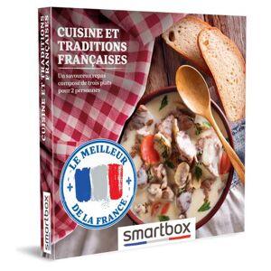 SmartBox Coffret cadeau Smartbox Cuisine et traditions françaises - Coffret cadeau - Publicité