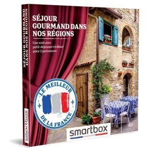SmartBox Coffret cadeau Smartbox Séjour gourmand dans nos régions - Coffret cadeau - Publicité
