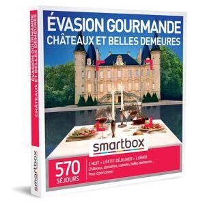 SmartBox Coffret cadeau SmartBox Évasion gourmande châteaux et belles demeures - Coffret cadeau - Publicité