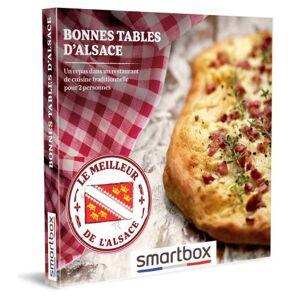 SmartBox Coffret cadeau Smartbox Bonnes tables d'Alsace - Coffret cadeau - Publicité