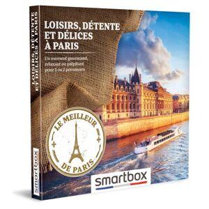 SmartBox Coffret cadeau Smartbox Loisirs, détente et délices à Paris - Coffret cadeau - Publicité